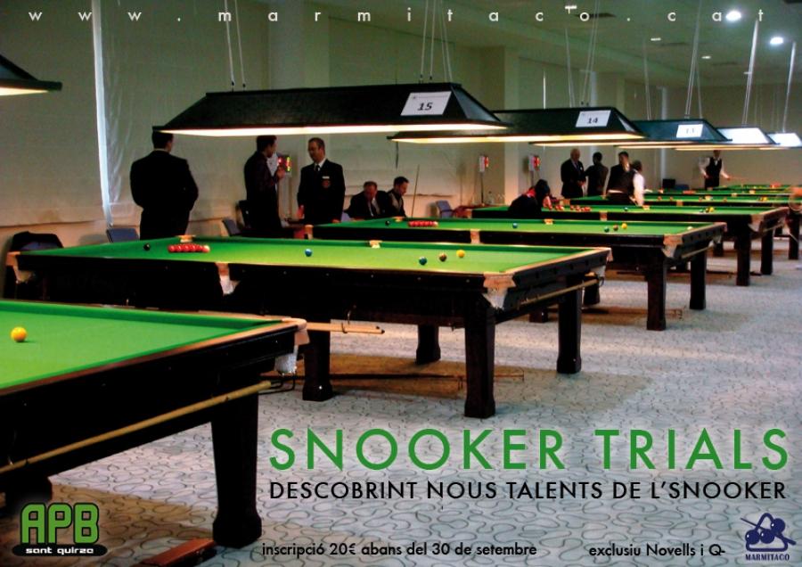 Snooker Trials 2010