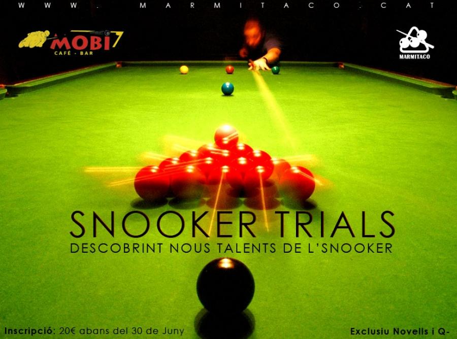 Snooker Trials 2009